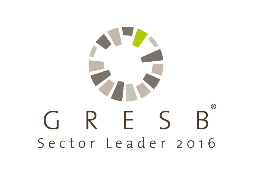 GRESB Sector Leader 2016 logo