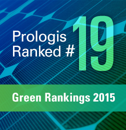 Prologis Among Top 20 in 2015 Newsweek Green Rankings