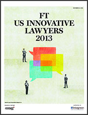FT US Innovative Lawyers 2013
