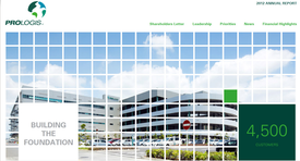 Prologis Releases 2012 Annual Report