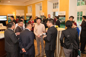 Customers mingle at Prologis China's VIP customer appreciation event