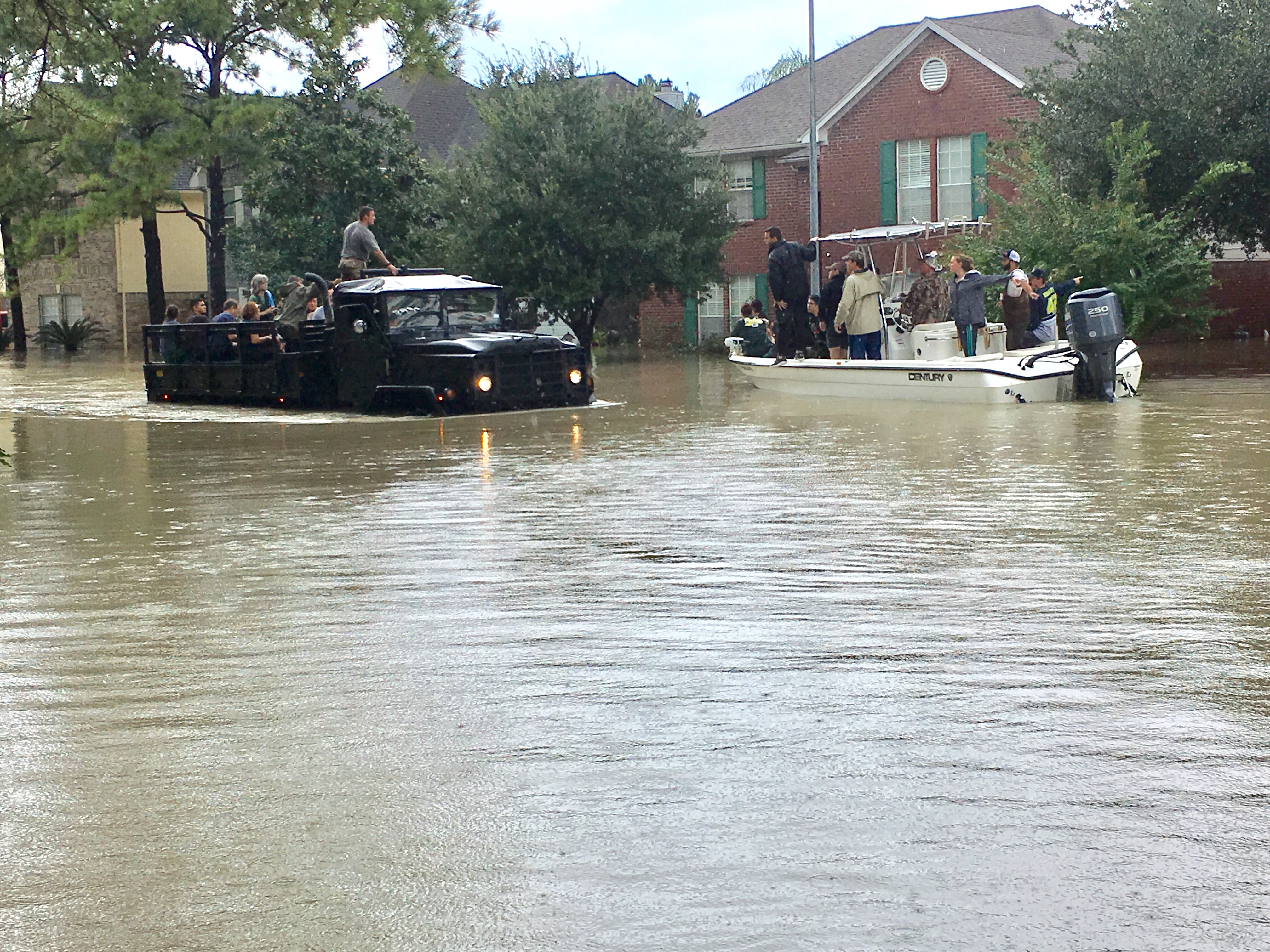 Hurricane Harvey relief efforts, Houston, Texas