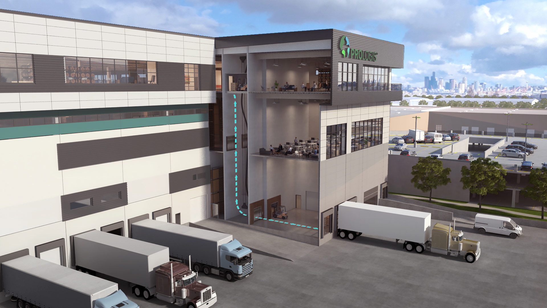Prologis Georgetown Crossroads is being developed in Seattle, Washington.