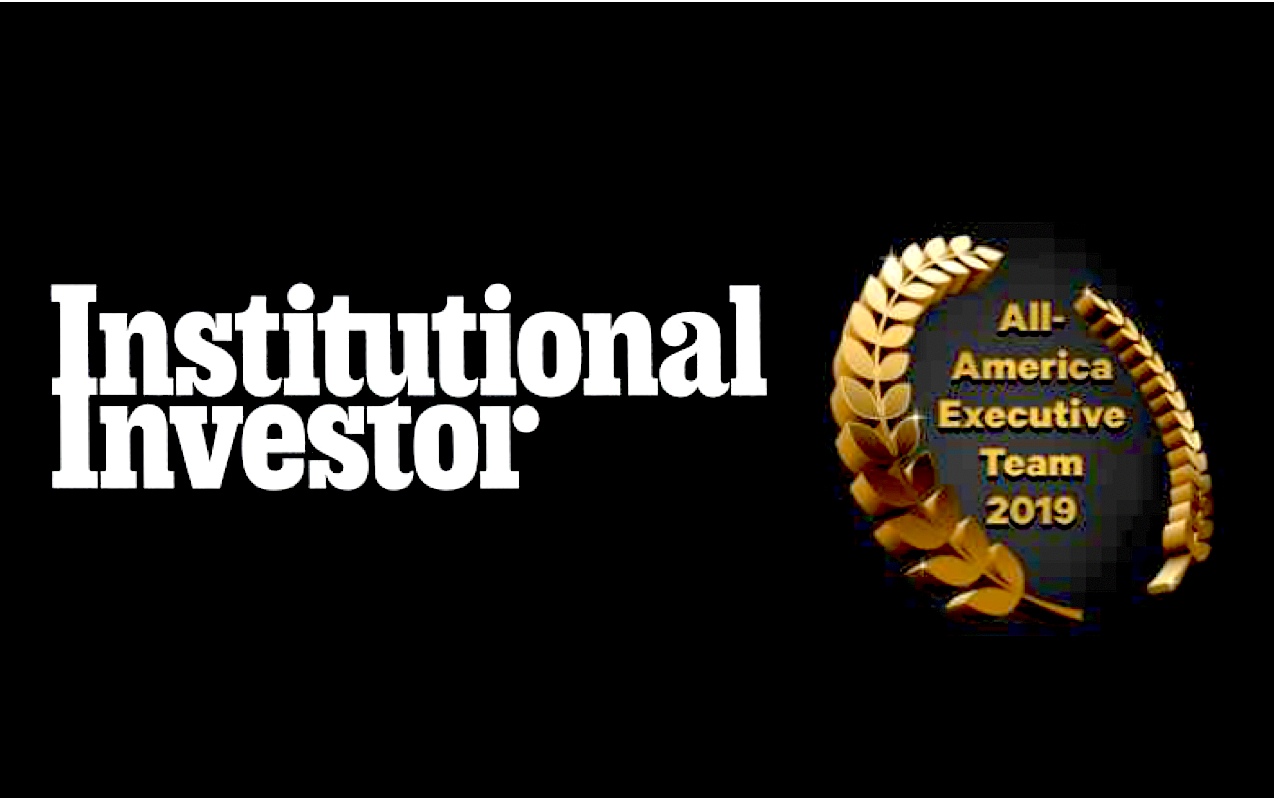 Institutional Investor All America Executive Team 2019