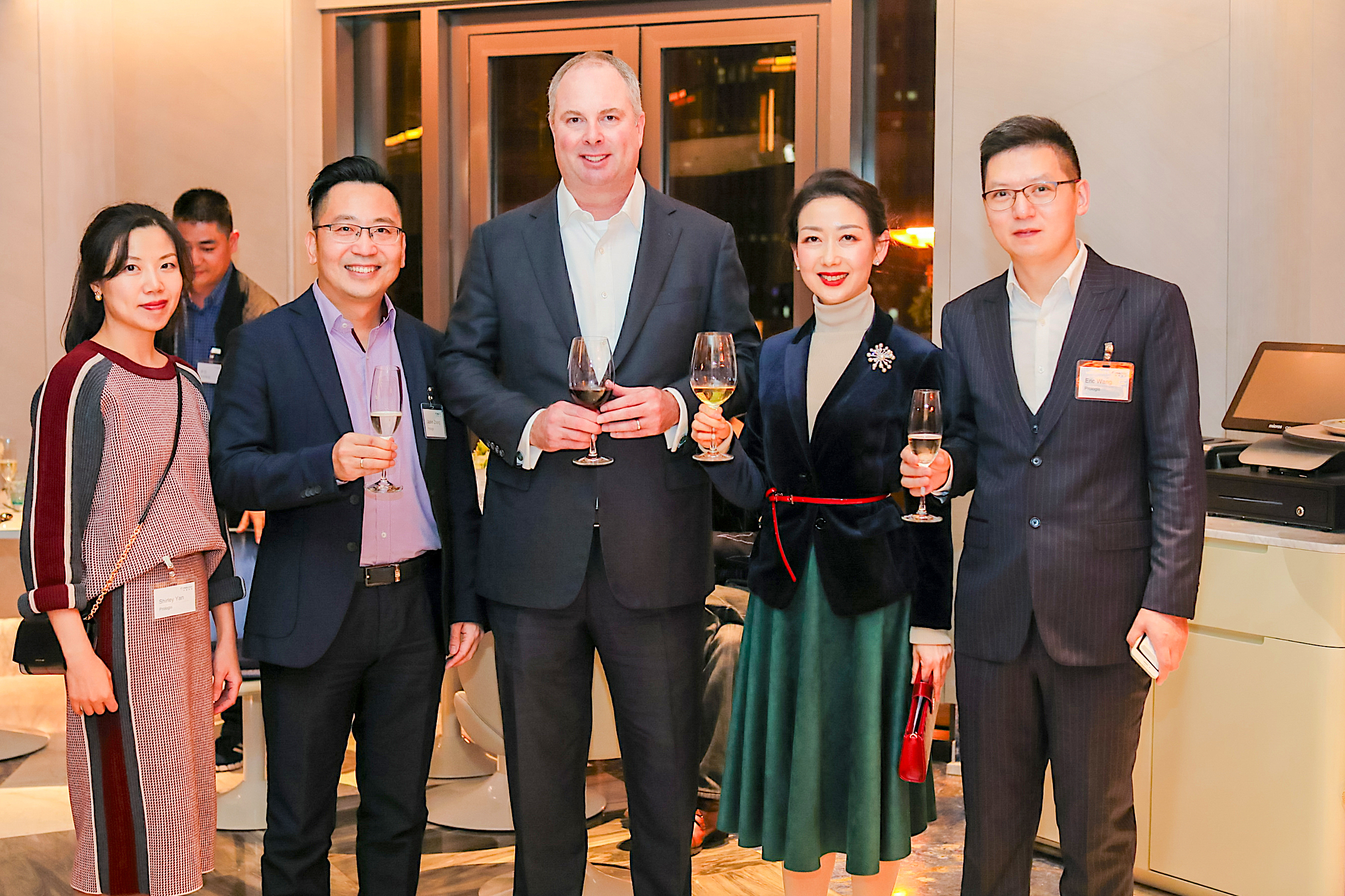 Prologis China President Ben Cornish greets guests to the Seventh Annual Customer Appreciation Event