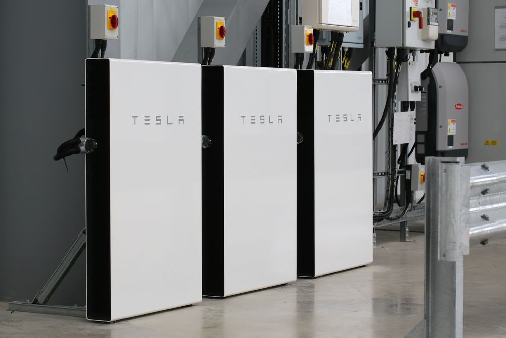 Tesla Powerwall battery storage units